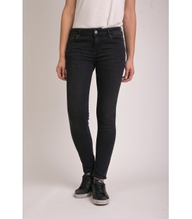 Pantalon Femme ROXANNE Slim Cropped Denim Archive Black N°6