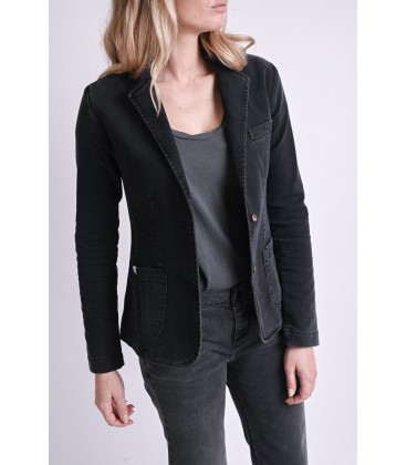 BLAZER M DENIM ARCHIVE BLACK N°6