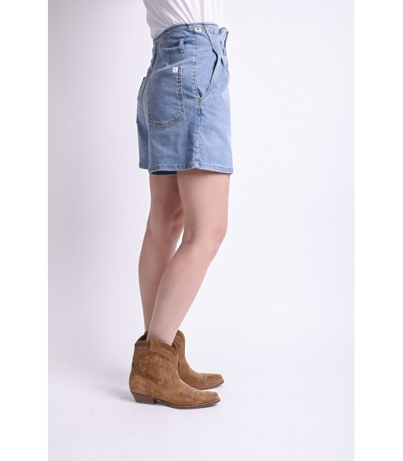 Short Denim MARGOT - Blue Vintage N°4